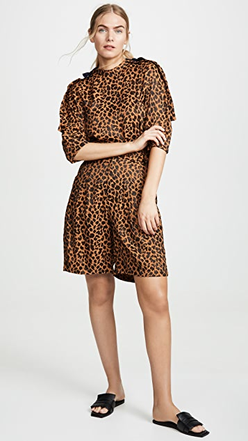 Toga Pulla Топ с леопардовым принтом