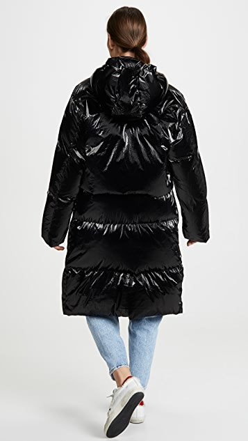 Toga Pulla Shiny Down Coat