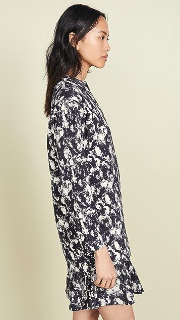 Toga Pulla Marble Print Dress