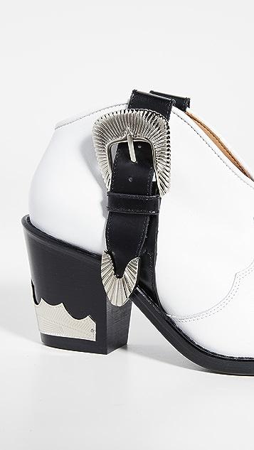 Toga Pulla Ботильоны в ковбойском стиле