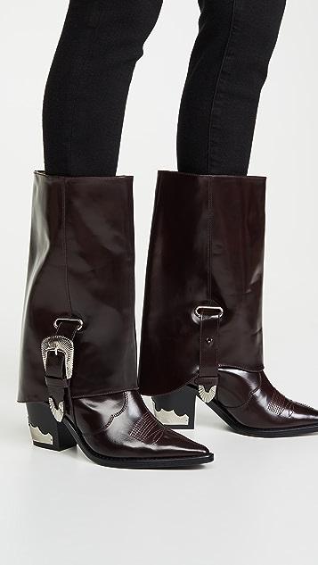 Toga Pulla Western Tall Boots