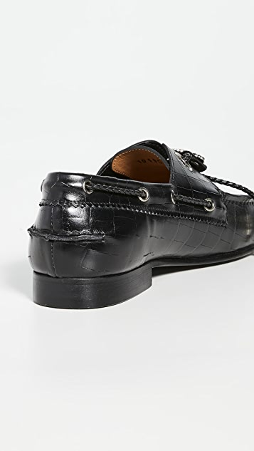 Toga Pulla Embossed Loafers