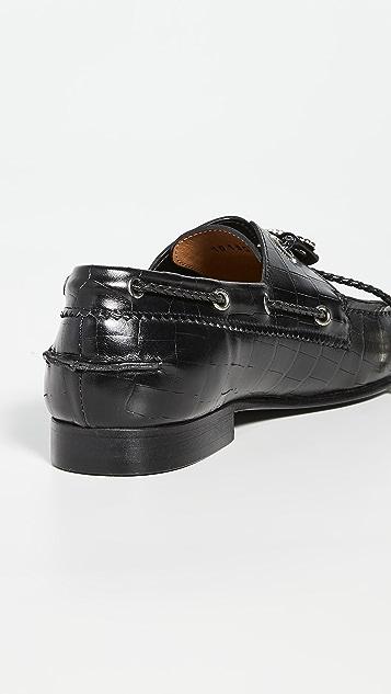 Toga Pulla 压纹浅口船鞋