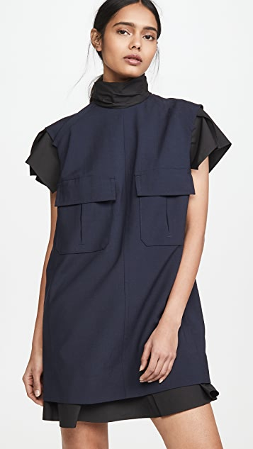 Toga Pulla Suiting Mini Dress