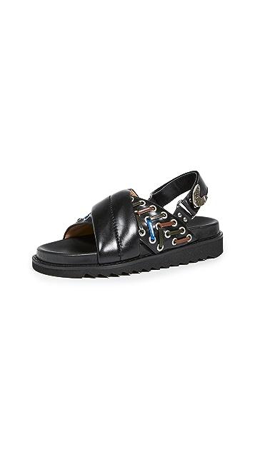 Toga Pulla 交叠凉鞋