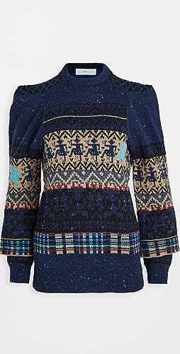 Toga Pulla - Jaquard Knit Pullover