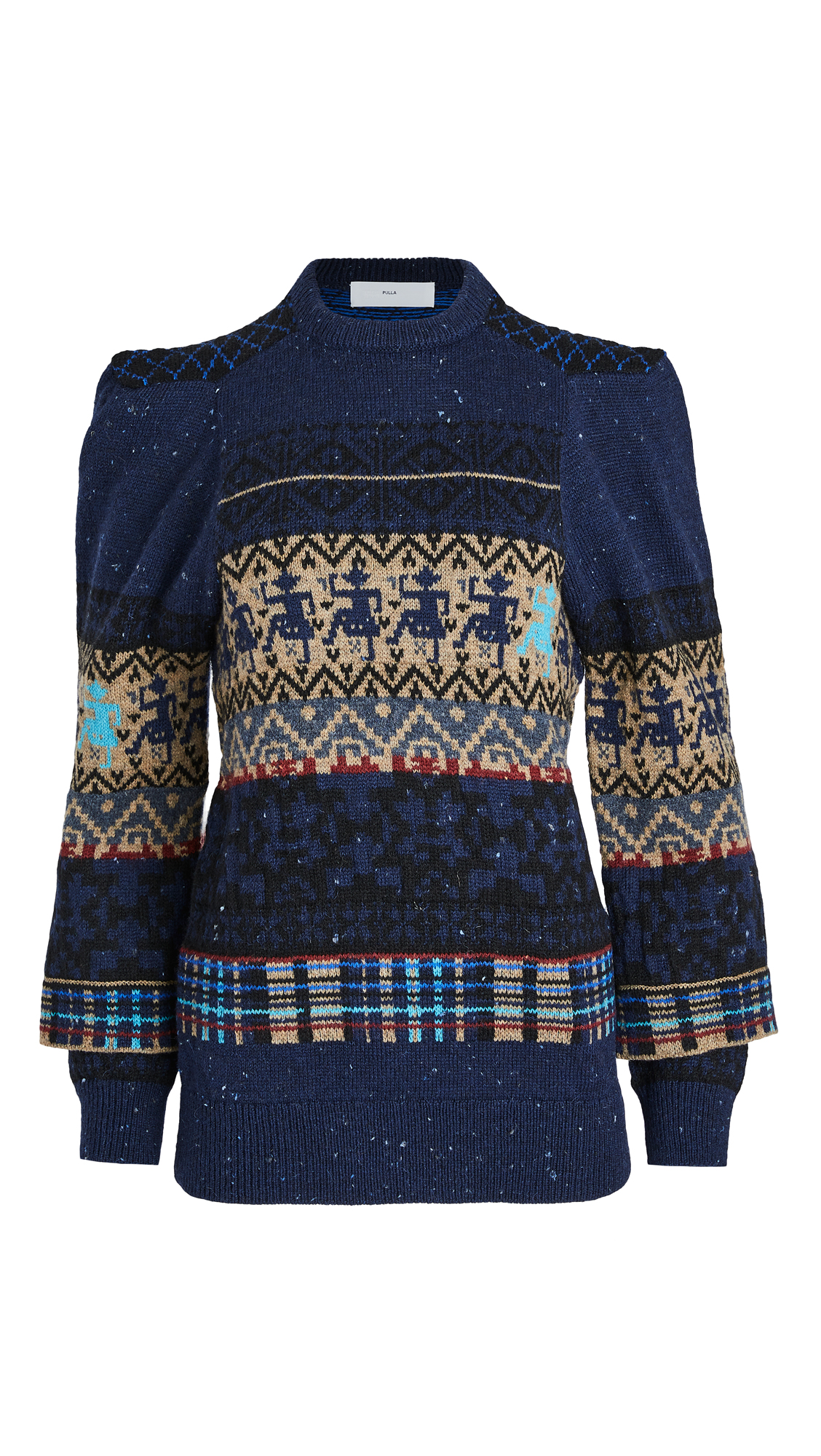 Toga Pulla Jaquard Knit Pullover