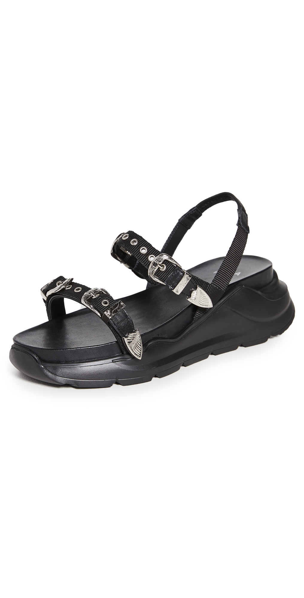 Toga Pulla Buckle Sandals