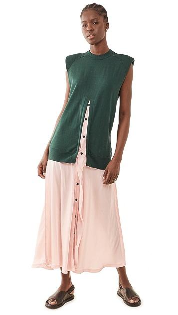 Toga Pulla Knit Long Dress