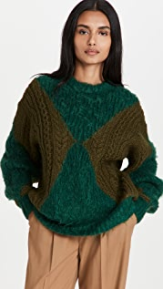 Toga Pulla Low Gauge Knit Pullover