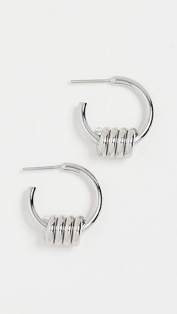 Tohum Apia 圈式耳环