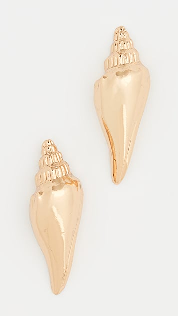 Tohum Colubra Shell Earrings