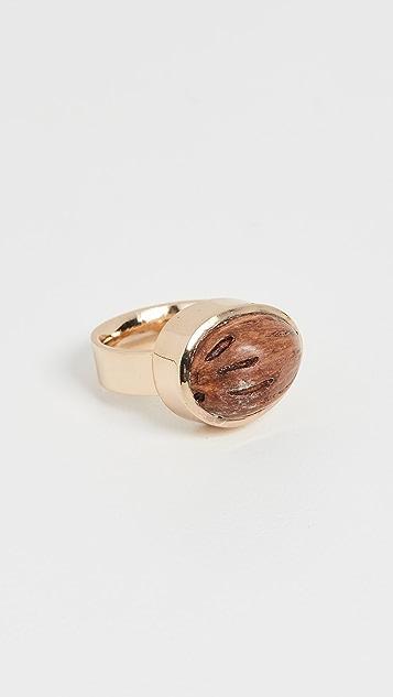 Tohum Wood Beads  Resort Ring