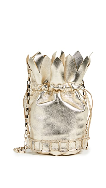 TOMASINI Ananas Bucket Bag