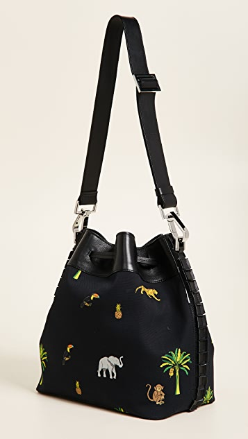 TOMASINI Montaigne Canvas Bucket Bag