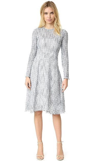 0d0e5bd9c2 Tome Tweed Long Sleeve Flare Dress | SHOPBOP