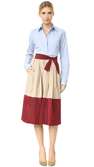 Tome Skirt with Belt