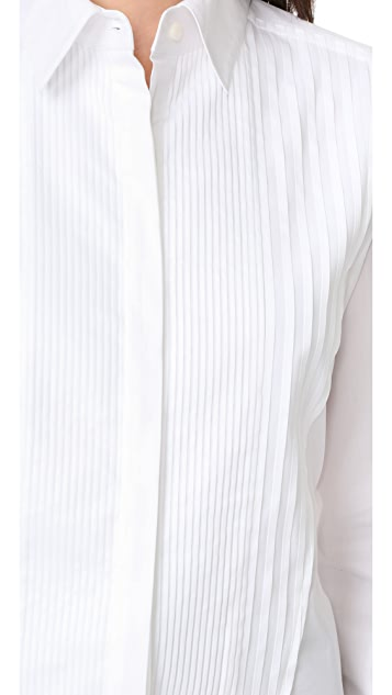 Tome Pleated Front Blouse