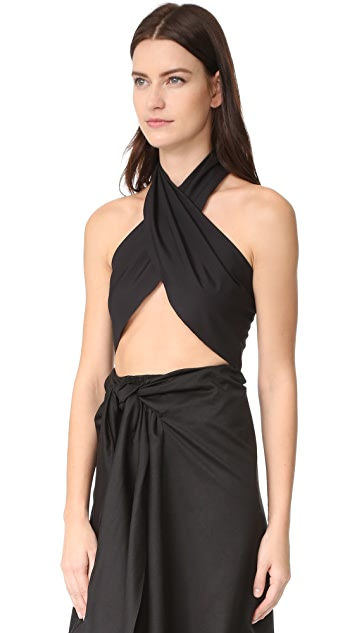 Tome Wrap Top