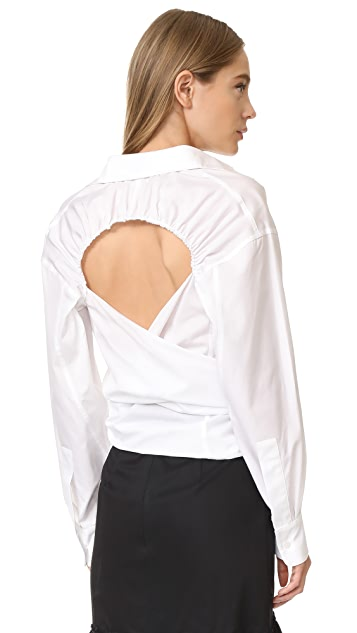 Tome Open Back Shirt