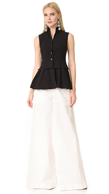 Tome Chinoise Ruffle Vest