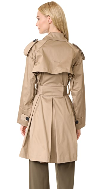 Tome Cropped Trench Coat