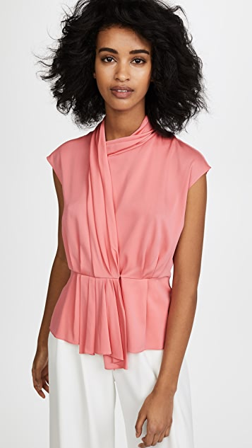 Tome Sash Front Blouse - Candy Pink