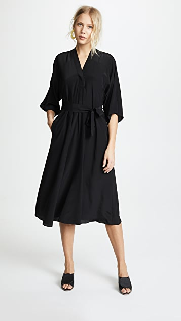 Tome V Neck Dress