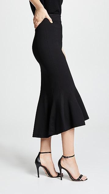 Tome Flare Ponte Skirt