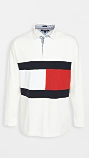 Tommy Hilfiger Iconic Reissue The Flag Rugby Shirt