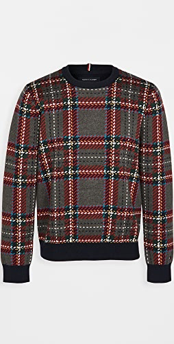 Tommy Hilfiger - Collins Plaid Crew Sweater