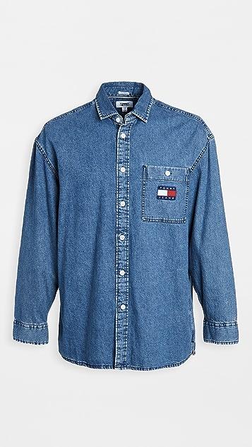 Tommy Hilfiger Tommy Jeans Grayson Oversized Denim Shirt
