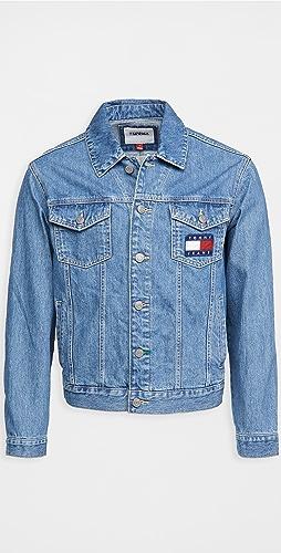 Tommy Hilfiger - Tommy Jeans Mason Flag Trucker Jacket