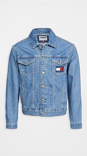 Tommy Hilfiger Tommy Jeans Mason Flag Trucker Jacket