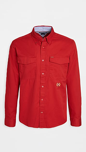 Tommy Hilfiger Hargrove Twill Captain Shirt