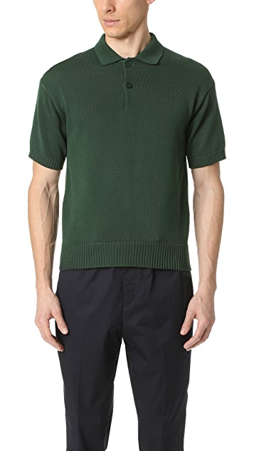 Tomorrowland Basic Cotton Polo