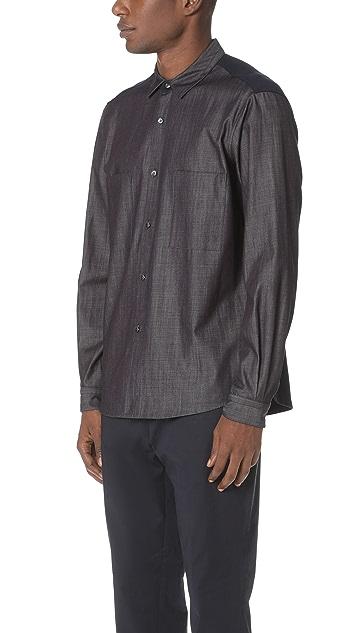 Tomorrowland Tricot Long Sleeve Shirt