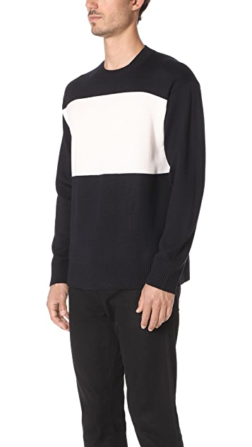 Tomorrowland Two Tone Sweater