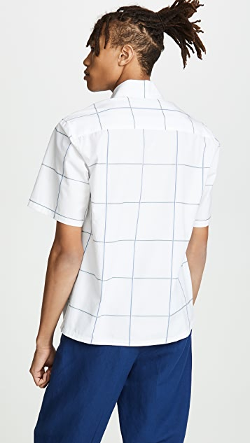 Tomorrowland Windowpane Shirt