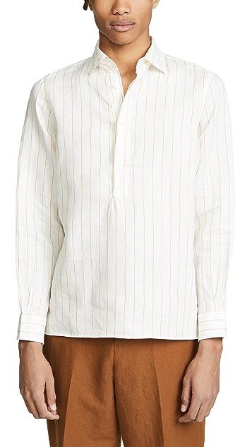 Tomorrowland Color Stripe Shirt