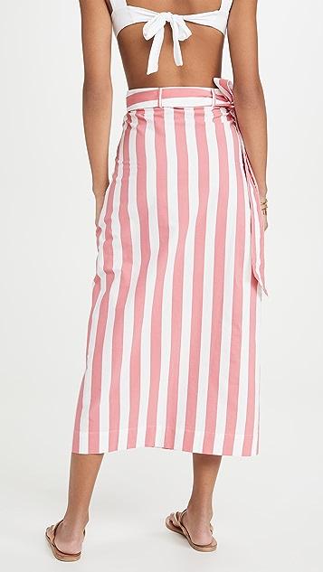 Tooshie 条纹半身裙