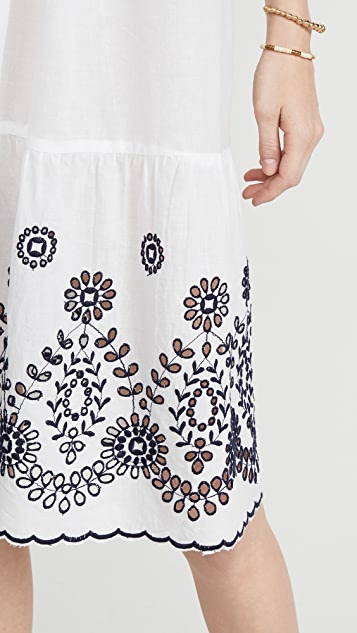 Tooshie Embroidered Short Dress