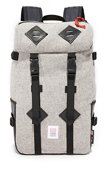 Topo Designs Klettersack Wool Large Backpack