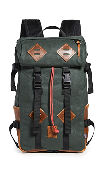 Topo Designs Klettersack Heritage Canvas Backpack