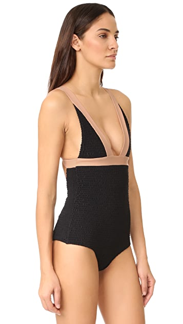 Tori Praver Swimwear Crete Colorblock Isabella One Piece