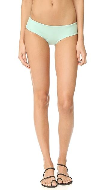 Tori Praver Swimwear Solids Gemma Bikini Bottoms