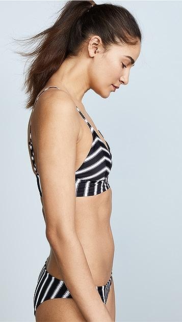 Tori Praver Swimwear Daniella Banded Triangle Top
