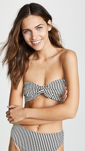 Tori Praver Swimwear Desiree Bandeau Bikini Top