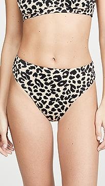 Savannah Cheeky High Waisted Bikini Bottoms