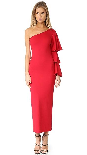 Torn by Ronny Kobo Carmen One Shoulder Dress